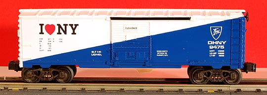 Lionel 6-19949 I Love New York Boxcar
