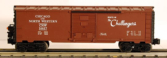 Lionel 6-16617 Chicago & Northwestern Boxcar with End of Train Device