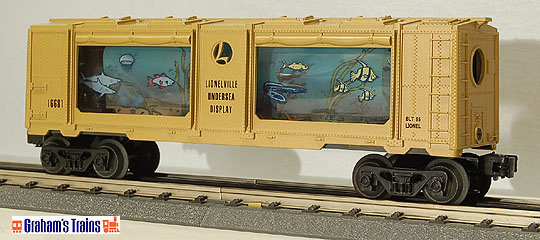 Lionel 6-16681 Animated Aquarium Car