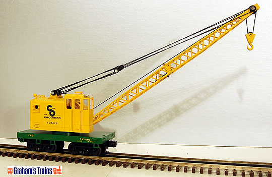 MTH 30-79031 Chesapeake & Ohio Operating Crane Car