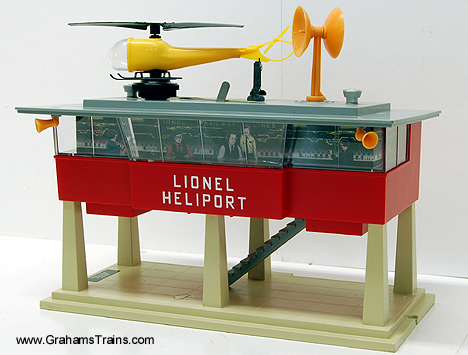 Lionel 6-14084 Operating Heliport