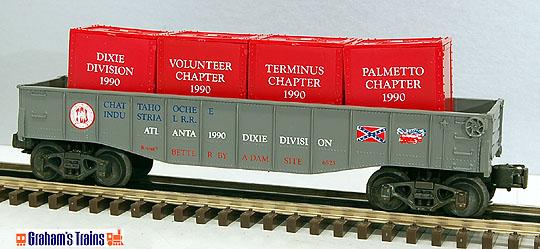 K-Line K-6523 TCA Dixie Division 1990 Gondola Chattahoochee Industrial R.R.