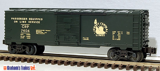 Lionel 6-7404 Jersey Central Boxcar
