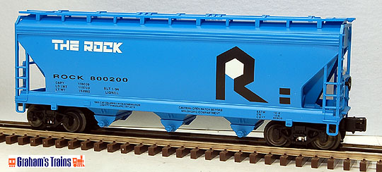 Lionel 6-17122 Rock Island 3-Bay ACF Hopper Std. O