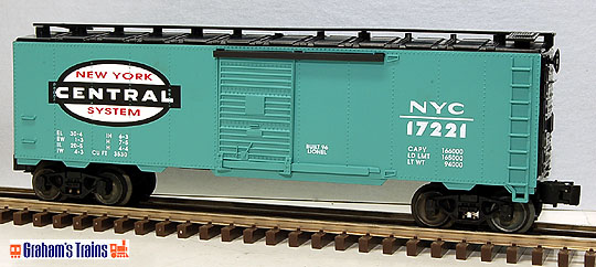 Lionel 6-17221 New York Central Boxcar Std. O