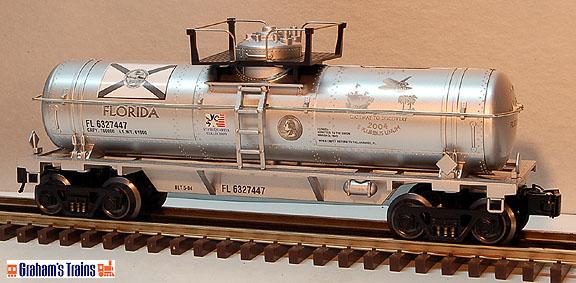 K-Line K632-7447 Florida State Quarter Tank Car