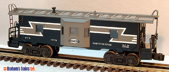 Lionel 6-19726 New York Central NYC Bay Window Caboose