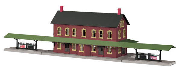 MTH 30-90094 Passenger Station with Dual Platforms