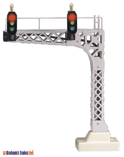 MTH 30-11009 Scale Cantilevered Signal Bridge