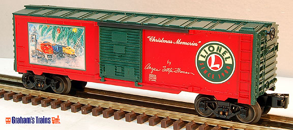 "Lionel 6-25054 2008 Angel Trotta Thomas ""Christmas Memories\"" Boxcar"
