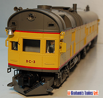 MTH Premier 20-2242-1 Union Pacific Rail Inspection Car with