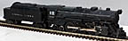 Lionel 2035 2-6-4 Steam Engine and 6466W Whistle Tender - Postwar
