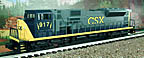 Williams SD90-201 CSX SD-90 Diesel Engine with True Blast II