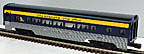 Lionel 6-19148 Chesapeake & Ohio Streamlined Aluminum Passenger Car