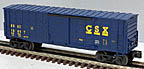 Lionel 6-15017 CSX Waffle Sided Boxcar