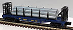 Lionel 6-26357 CSX Flatcar with Pipes