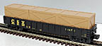 MTH 30-7211 CSX Gondola with Crates