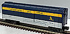 MTH 30-74680 Chesapeake & Ohio Rounded Roof Boxcar