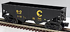 Lionel 6-16456 Chessie B&O 2-Bay Hopper
