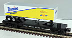 Lionel 6-26335 Domino Sugar Flatcar with Trailer