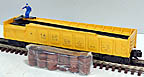 Lionel 6-36762 #3562 Santa Fe ATSF Operating Barrel Car, Postwar Celebration Series