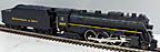 Lionel 6-28008 Chesapeake & Ohio 4-6-4 Hudson Steam Engine TMCC
