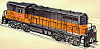 Lionel 6-38305 Milwaukee Road GP-7 Diesel Engine Conventional Classics #2338