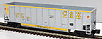 Lionel 6-17427 CSX Bathtub Gondola with Rotating Coupler Std. O