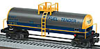 Lionel 6-17930 CSX Uni-Body Tank Car Std. O