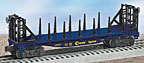 Lionel 6-26307 Chessie Flatcar with Bulkheads and Side Stakes