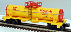 Lionel 6-16188 Kodak Single Dome Tank Car