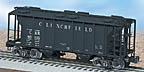 Lionel 6-17038 Clinchfield PS-2 2-Bay Covered Hopper Std. O
