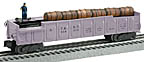 Lionel 6-37032 #3562 A.T.& S.F. Pastel Operating Barrel Car, Girls Set