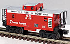 Lionel 6-26551 Chessie Western Maryland  Square Window Caboose