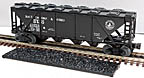 Williams HC03 Baltimore & Ohio Quad Hopper with Cover and Coal Load #21075