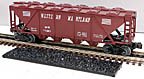 Williams HC14 Western Maryland Quad Hopper with Cover and Coal Load #11263