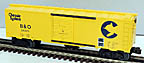 Williams WAL31 Chessie Single Door Boxcar #26491