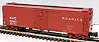 Atlas-O 8765-2 Reading ARA X-29 Steel Boxcar #100537
