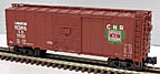 Atlas-O 2002256 Canadian National 40' Steel Boxcar #541103