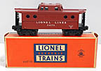 Lionel 6417-25 Lionel Lines Lighted N5c Porthole Caboose -Postwar