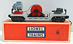 Lionel 3650 Extension Searchlight Car - Postwar
