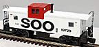 Lionel 6-19720 Soo Line Extended Vision Caboose