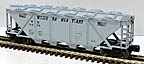 Lionel 6-16426 Western Maryland Covered Quad Hopper