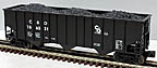 Lionel 6-17149 Chesapeake & Ohio Hopper with Coal Load Std. O #156331