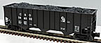 Lionel 6-17150 Chesapeake & Ohio Hopper with Coal Load Std. O #156332