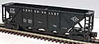 Lionel 6436-1 Lehigh Valley Quad Hopper - Postwar