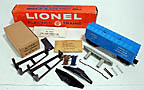 Lionel 3357 Hydraulic Maintenance Platform Car (Cop & Hobo Car) Complete Set - Postwar