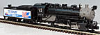 MTH Premier 20-3702-1 Kansas City Southern 0-8-0 USRA Steam Engine ProtoSound 3.0