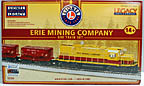 Lionel 1922090 Erie Mining Company Ore Car Train Set, C420 Locomotive, 12 Ore Cars, Caboose, with Legacy, Bluetooth, LionChief, FREE SHIPPING