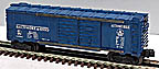 Lionel 6468 Baltimore & Ohio Double Door Automobile Boxcar - Postwar